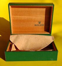 Rolex Box grün Uhrenbox 10.00.01 Geneve Suisse Rolex green I33