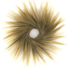 chouchou chignon cheveux châtain méché doré ref: 21 en 6t24b
