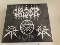 VADER the empire / iron times + 4 bonus tracks LTD 2 CD SET BOX SET