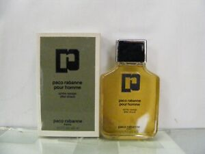 PACO RABANNE Pour Homme after Shave 125 ML Old Formula