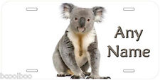 Koala Picture Any Text Personalized Car Tag Novelty License Plate P03
