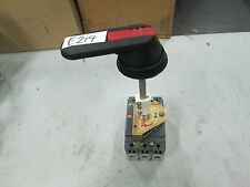 Abb Sin Circuit Breaker 3 Pole 277/480 Vac 100 Amp Includes Operator (New)