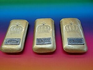 Handytasche von Glööckler Royal Gold Größe M
