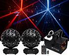 2 Chauvet DJ Rotosphere Q3 Mirror Ball Dance Floor Effect Lights+Fogger w/Lights