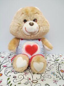 Care Bears Plush Stuffed Tenderheart Bear by Kenner, American Greetings, 1983