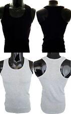 Herren Tank Top Muskelshirt Shirt Unterhemden Achselshirt 100% Baumwolle M L XL