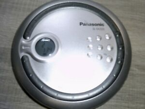 Panasonic Model No SL-SX322 Personal CD Player including Brand New Earphones
