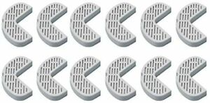PURE GREEN Filters for Pioneer Pet Ceramic & Stainless Steel Fountains 12 Pack