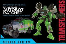 In-Hand Hasbro Transformers Studio Series Deluxe Class Ratchet Figure Movie New