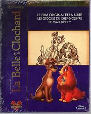 LA BELLE ET LE CLOCHARD 1 & 2 - Coffret Blu-Ray - Neuf