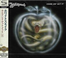WHITESNAKE COME & GET IT RMST SHM CD+6 JAPAN 2011 MINT W/OBI - OUT OF PRINT!