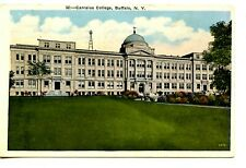 Canisius College Building-Buffalo-New York-Vintage W/B Postcard