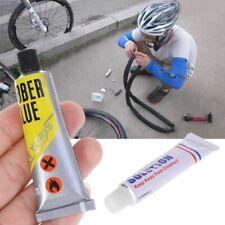 Bicycle Tire Tyre Repair Glue Inner Tube Rubber Cement Adhesive Repair Tool EFO