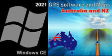 Gps software with 2021 Australia & Nz Maps for Win Ce Car Indash stereo system