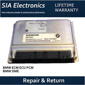 BMW ECM ECU PCM DME Engine Computer Repair & Return  BMW ECM Repair