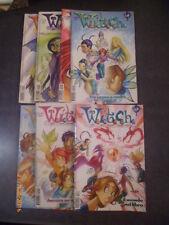 LOTTO N° 3 WITCH - 7 ALBI TRA IL n° 10 E IL n° 61 - DISNEY