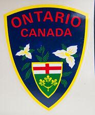 Vintage Ontario Canada Windshield Car Luggage Decal Sticker