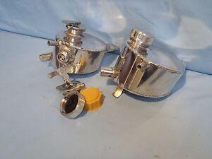 ALUMINIUM HEADER TANK FOR LOTUS ELAN M100 & CORSA B WITH OPTIONAL SIGHT GLASS