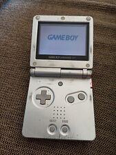 Nintendo Gameboy Advance SP GBA Game Boy Console Silver Handheld Retro