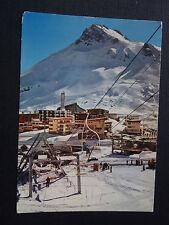 CPSM Tignes Le Lac 2000 m. Le télésiège du Palafour, la station et la Pointe du
