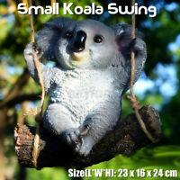 Hanging Koala Outdoor Garden Tree Ornament Statue Figurine Sculpture