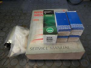 1994 Nissan Sentra service manual, injectors, fuel pump, and o2 sensor, GA16DE