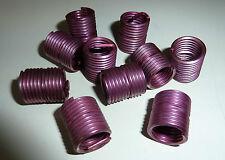 10 Gewindeeinsatz Gewindeeinsätze M12x 1,5 - 17 Gewinde- Reparatur Gewindebuchse