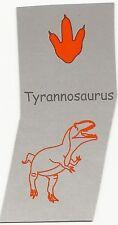 DINOSAUR STAMP TYRANNOSAURUS REX T-REX Animal Footprint INK STAMPER
