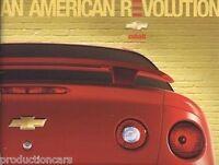 2005 Chevrolet Cobalt 28-page Original Car Dealer Sales Brochure Catalog - SS