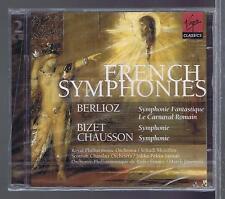MENUHIN 2 CDs NEW BERLIOZ BIZET CHAUSSON  FRENCH SYMPHONIES
