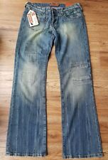 """Rare 'Eighty 8' Troya, Ladies Bootcut Jeans. Size 12, 32""""W, 34""""L. **New**"""
