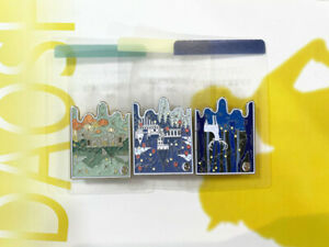 FF14 Final Fantasy Metal Pin Badge Brooch 3pcs Collect Limited