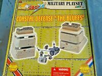 1/32 Scale Ultimate Soldier COASTAL DEFENSE THE BLUFFS German Playset PAK WW2