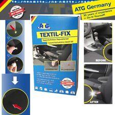 ATG Textil-Fix Autositz Brandloch Reparaturset für alle Polster Teppich 13 tlg✅
