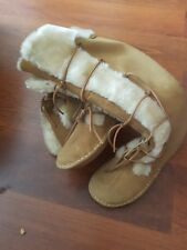 clarks beige suede boots size 7