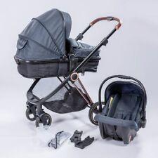 3in1 Kombi Kinderwagen Komplettset Buggy Babywanne Babyschale Autositz Alu PRL