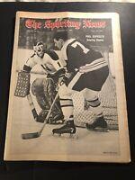 1969 Sporting News BOSTON Bruins PHIL ESPOSITO No Label SCORING DEMON NY Rangers