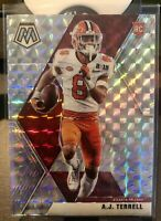 ⭐️2020 Panini Mosaic A.J. Terrell RC Silver Prizm Refractor Falcons Rookie SP⭐️