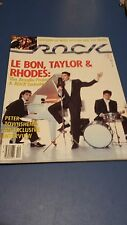 Arcadia Tiger Beat Rock Magazine From November 1985
