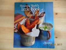 SLIMMING WORLD LITTLE BOOK OF LIGHT BITES  60+ TASTY NIBBLES (MANY FREE!) EX CON