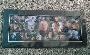 Star Trek First Contact Mounted Picture