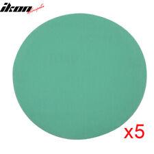 Disc 240 Grit 5 PSA Green Auto Car Sanding Paper Sheets Repair Sand Velcro 50PC
