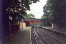 PHOTO  1989 MIDDLEWOOD RAILWAY STATION THE BRIDGE USED TO CARRY THE RAILWAY LINE