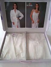 Parure 2 pezzi vestaglia e camicia da notte Birba.Art.1001 Col.Panna. A287