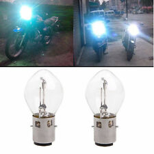 2pcs ATV Moped Scooter Head Light Bulb Motorcycle 12V 35W 10A B35 BA20D Glass