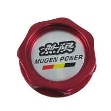 NEW JDM RED MUGEN Oil Cap Cover Integra MDX Civic ACCORD UNIVERSAL