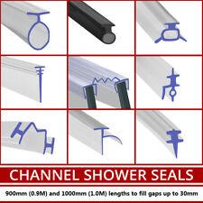Channel Shower Screen Seal Strip | Bi-Fold Folding Soft Rubber | T Shape | 1M
