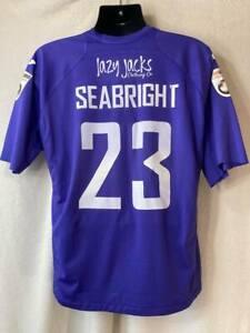 Torquay United Match Worn 2014-15 Goalkeeper Football Shirt #23 Jordan Seabright