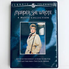 Murder, She Wrote: 4 Movie Collection (DVD, 2012, 2-Disc Set) Angela Lansbury