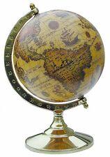 Globus Antik Look - Alte Welt - Messinggestell - sc-1151